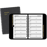 AT-A-GLANCE; Telephone/Address Book, 3 3/4 inch; x 6 1/8 inch;, Black