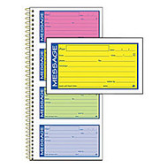 Adams; High-Impact Phone Message Book, Neon Colors, Book Of 200 Messages