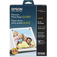 Epson Photo Paper - 5 inch; x 7 inch; - 68 lb Basis Weight - High Gloss - 92 Brightness - 20 Sheet - White