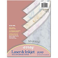 Array Bond Paper - Letter - 8.50 inch; x 11 inch; - 24 lb Basis Weight - 500 / Ream
