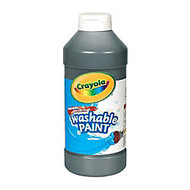 Crayola; Washable Paint, Black, 16 Oz