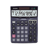 Casio; Check & Correct Desk Calculator, 1.37 inch; x 5.51 inch; x 7.51 inch;, Black, DJ120D