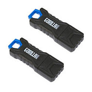 GorillaDrive Ruggedized USB 2.0 Flash Drive, 16GB, Pack Of 2