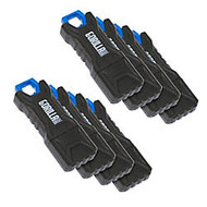 GorillaDrive Ruggedized USB 2.0 Flash Drive, 8GB, Pack Of 8