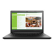 Lenovo; IdeaPad 100 Laptop, 15.6 inch; Screen, Intel; Core i3, 4GB Memory, 1TB Hard Drive, Windows; 10