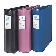 Avery; Heavy-Duty Binder With Gap Free™ Round Rings, 3 inch; Rings, 44% Recycled, Mauve