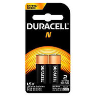 Duracell; Coppertop 1.5 Volt Alkaline N Batteries, Pack Of 2