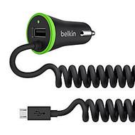 Belkin; Micro USB Car Charger With USB Port, Black, F8M890BT04-BLK