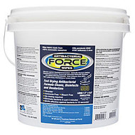 2XL Force Antibacterial Wipes, 6 inch; x 8 inch;, White, Bucket Of 900