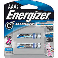 Energizer; e2 Lithium AAA Batteries, Pack Of 2