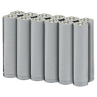 SKILCRAFT; 3.6 Volt Lithium AA Batteries, Pack Of 12 (AbilityOne 6135-01-301-8776)