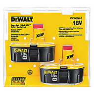 DeWalt XRP Rechargeable Battery Pack Combo, 18V