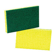 3M Scotch-Brite™ Cellulose Medium-Duty Scrubbing Sponge, 6 1/4 inch;H x 3 1/2 inch;W x 3/4 inch;D, Yellow/Green