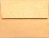 Stardream Amber A-7 Metallic Envelope
