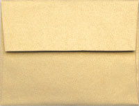 Stardream Gold A-1 Metallic Envelope
