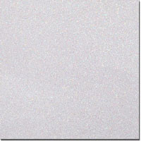 "Solid Glitter Cardstock White 12"" x 12"" cover weight"
