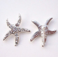 Starfish Rhinestone Buckle