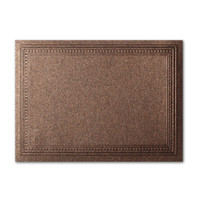 """50 Pack Stardream Metallic Bronze 105 Lb. Cover A2 Imperial Embossed Border Card 4 1/4"""" X 5 1/2"""""""