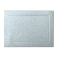 "50 Pack Stardream Metallic Aquamarine 105 Lb. Cover A7 Bevel Panel Border Card 5"" X 7"""