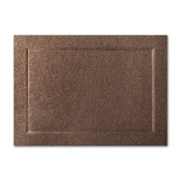 "50 Pack Stardream Metallic Bronze 105 Lb. Cover A7 Bevel Panel Border Card 5"" X 7"""