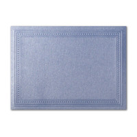 "50 Pack Stardream Metallic Vista 105 Lb. Cover A7 Imperial Embossed Border Card 5"" X 7"""