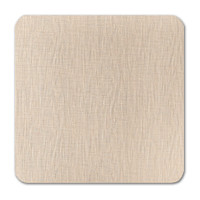 "50 Pack Eames Painting Eames Natural White 80 Lb. Cover Square Borderless Rounded Corner Cards 7 1/4"" X  7 1/4"""