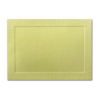 "50 Pack Eames Furniture Tivoli Green 80 Lb. Cover A7 Bevel Panel Border Card 5"" X 7"""
