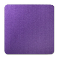 """50 Pack Eames Furniture Kaleidoscope Purple 80 Lb. Cover Square Borderless Rounded Corner Cards 7 1/4"""" X 7 1/4"""""""