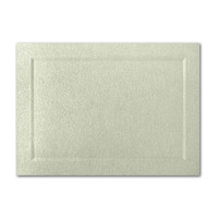 "50 Pack Stardream Metallic Serpentine 105 Lb. Cover A2 Bevel Panel Border Card 4 1/4"" X 5 1/2"""