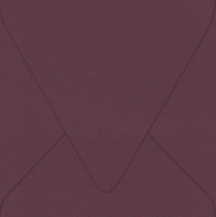 "Flavours Gourmet Cabernet 6 1/2"" Square Envelopes 50 Per Package"