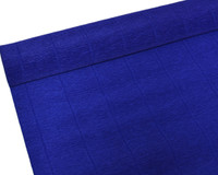 "Crepe Paper Midnight Blue Crepe Paper Roll (20"" X 98"")"