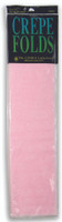 """Crepe Paper Baby Pink Crepe Paper Folds (20"""" X 90 """") ()"""