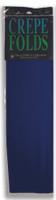 "Crepe Paper Navy Blue Crepe Paper Folds (20"" X 90 "") ()"