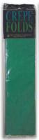 "Crepe Paper Emerald Green Crepe Paper Folds (20"" X 90 "") ()"