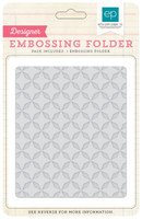 Echo Park Paper Quilted Star Embossing Folder