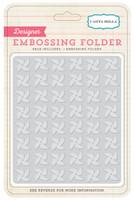 Echo Park Paper Pinwheels Embossing Folder
