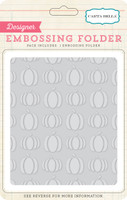 Echo Park Paper Pumpkins Embossing Folder
