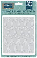 Echo Park Paper Rocketship Embossing Folder