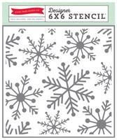 Echo Park Paper Snowflakes #1 Stencil