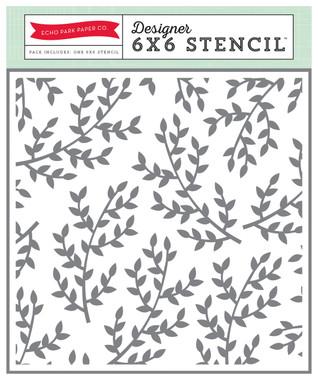 Echo Park Paper Branches Stencil