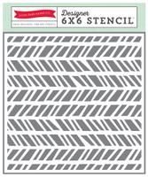 Echo Park Paper Modern Chevron Stencil
