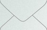 Stardream Aquamarine Business Card Metallic Euro Pointed Flap Envelopes 50 Per Package