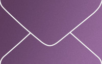 Curious Metallics Violette Business Card Metallic Euro Pointed Flap Envelopes 50 Per Package
