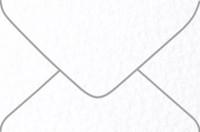 Arturo White 4-Bar Euro Pointed Flap Envelopes 50 Per Package