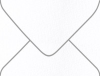 Arturo White A-2 Euro Pointed Flap Envelopes 50 Per Package