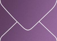 Curious Metallics Violette A-7 Metallic Euro Pointed Flap Envelopes 50 Per Package