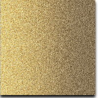 "Solid Glitter Cardstock Bright Gold 12"" x 12"" cover weight"