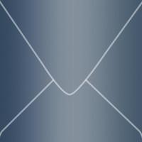 "Stardream Lapis Lazuli 6"" Square Metallic Euro Pointed Flap Envelopes 50 Per Package"