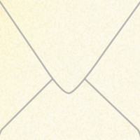 """Stardream Opal 6 1/2"""" Square Metallic Euro Pointed Flap Envelopes 50 Per Package"""