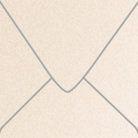 """Stardream Coral 6 1/2"""" Square Metallic Euro Pointed Flap Envelopes 50 Per Package"""